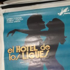Cine: ORIGINAL CARTEL GRAN FORMATO CINE EL HOTEL DE LOS KIGUES S CINEDRAC CANDY CISTER RIBERT FISLIRNAGREN. Lote 277047958