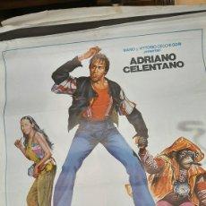 Cine: ORIGINAL CARTEL GRAN FORMATO DE CINE BINGO BONGO ADRIANO CELENTANO FILMAYER. Lote 277048353
