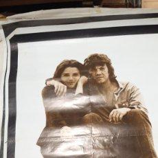 Cine: 1981 ORIGINAL POSTER GRAN FIRMATO CB FILMS DEPRISA DEORISA ELIAS QUEREJETA CARLOS SAURA BUEN ESTADO. Lote 277049423