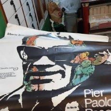 Cine: SALI CARTEL ORIGINAL DE CINE PIER PAOLO PASOLINI 1980 ALBERTO GRIMALDI S. Lote 277053503