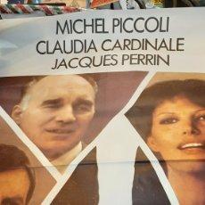 Cine: PODER Y CORRUPCIÓN ETIENE PERRIER CLAUDIA CARDINALE MICHAEL PICCOLI JACQUES PERRIN 1979. Lote 277053928
