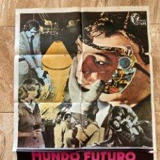 Cine: CARTEL CINE ORIG MUNDO FUTURO (1976) 70X100 / YUL BRYNNER / HENRY FONDA. Lote 277170703