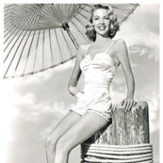 Cine: POSTER BARBARA LAWRENCE MGM 1954 - TAMAÑO A3 (33X48,3 CM) PAPEL ESTUCADO 135GRS. Lote 277173423