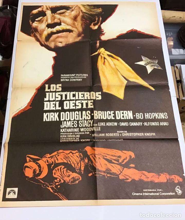 Cine: LOTE DE 19 CARTELES DE CINE ORIGINALES, AÑOS 80 - Foto 12 - 277515018