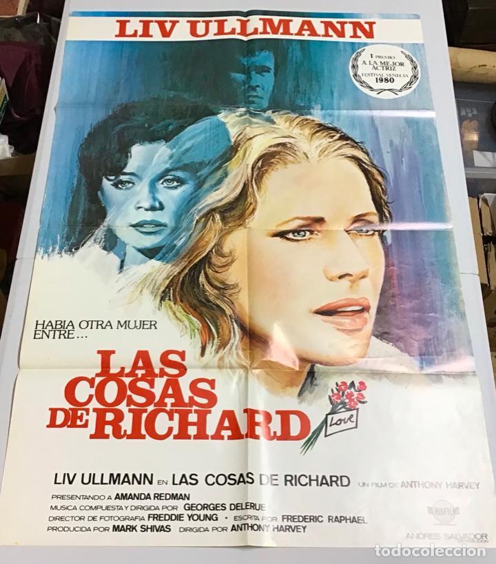Cine: LOTE DE 19 CARTELES DE CINE ORIGINALES, AÑOS 80 - Foto 18 - 277515018