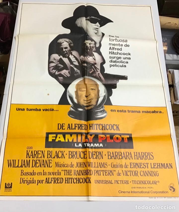 Cine: LOTE DE 19 CARTELES DE CINE ORIGINALES, AÑOS 80 - Foto 21 - 277515018