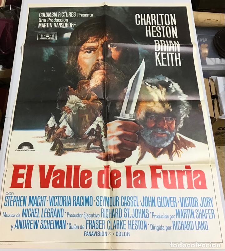 Cine: LOTE DE 19 CARTELES DE CINE ORIGINALES, AÑOS 80 - Foto 25 - 277515018