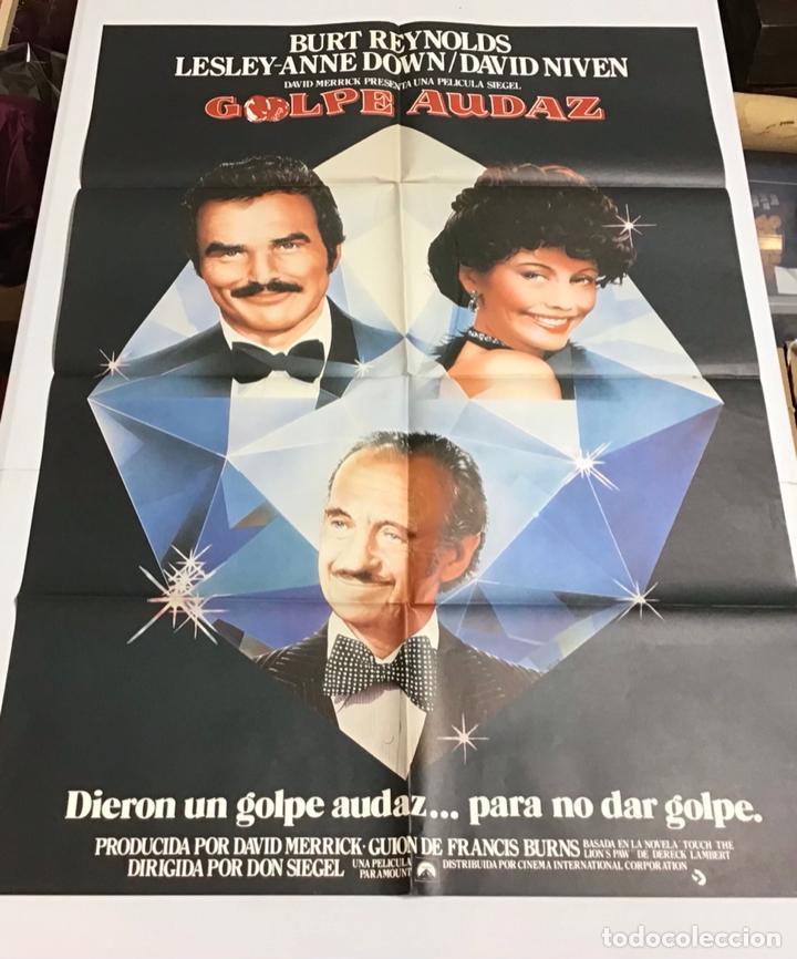 Cine: LOTE DE 19 CARTELES DE CINE ORIGINALES, AÑOS 80 - Foto 26 - 277515018