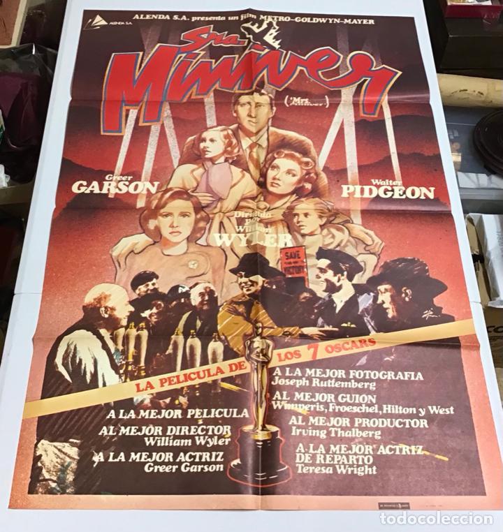 Cine: LOTE DE 19 CARTELES DE CINE ORIGINALES, AÑOS 80 - Foto 29 - 277515018