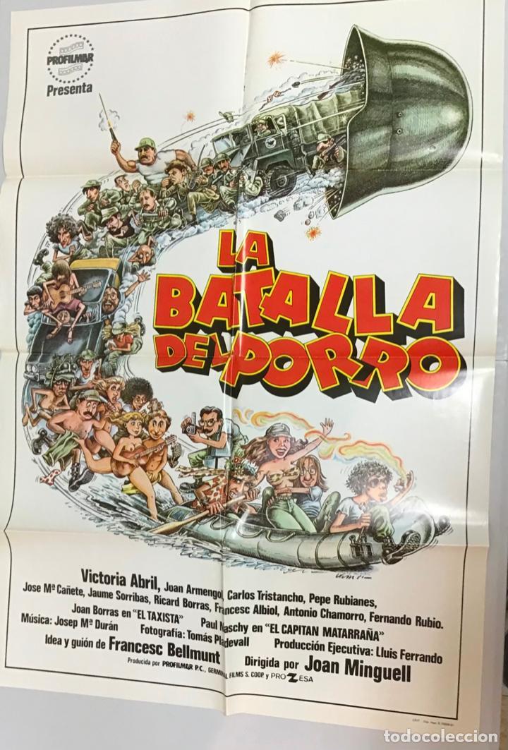 Cine: LOTE DE 19 CARTELES DE CINE ORIGINALES, AÑOS 80 - Foto 32 - 277515018