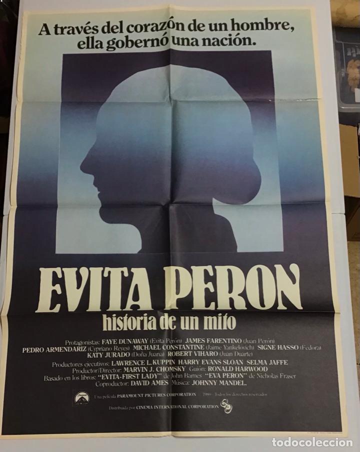 Cine: LOTE DE 19 CARTELES DE CINE ORIGINALES, AÑOS 80 - Foto 33 - 277515018