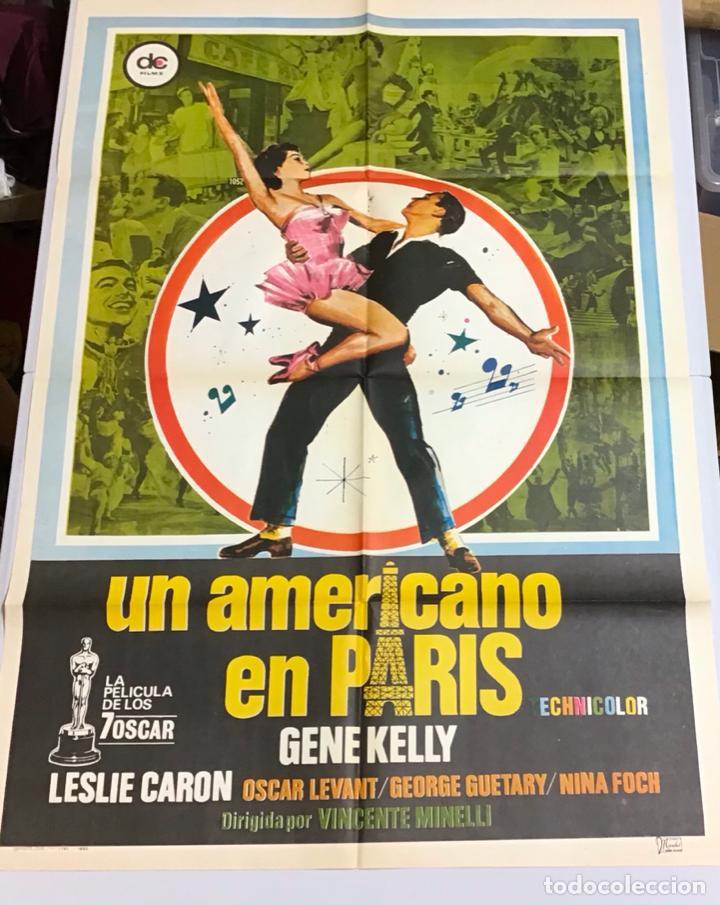 Cine: LOTE DE 19 CARTELES DE CINE ORIGINALES, AÑOS 80 - Foto 42 - 277515018