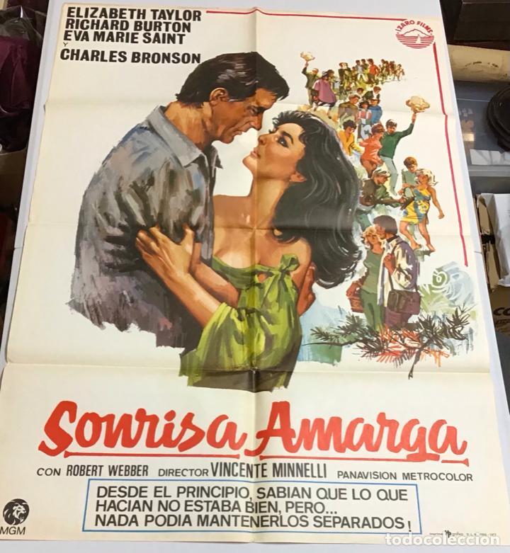 Cine: LOTE DE 19 CARTELES DE CINE ORIGINALES, AÑOS 80 - Foto 44 - 277515018