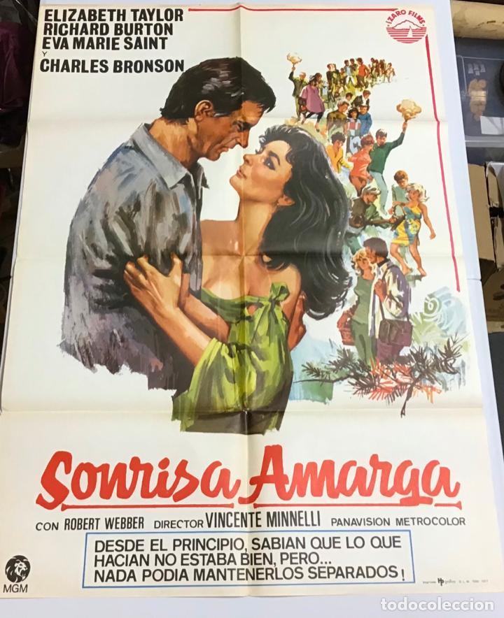 Cine: LOTE DE 19 CARTELES DE CINE ORIGINALES, AÑOS 80 - Foto 46 - 277515018