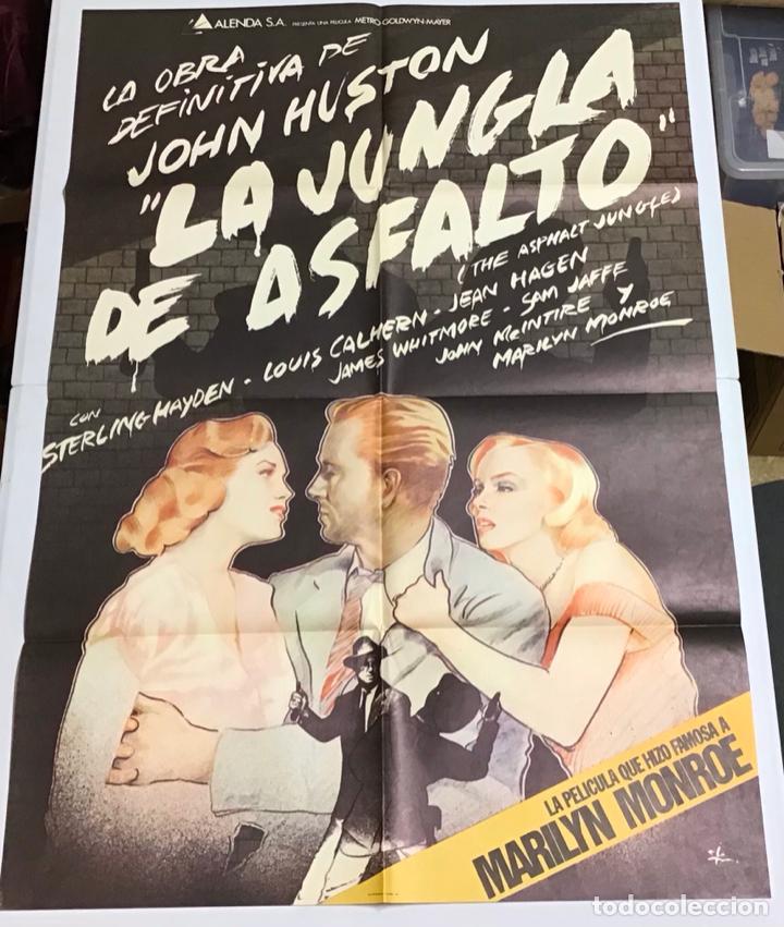 Cine: LOTE DE 19 CARTELES DE CINE ORIGINALES, AÑOS 80 - Foto 47 - 277515018