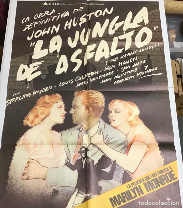 Cine: LOTE DE 19 CARTELES DE CINE ORIGINALES, AÑOS 80 - Foto 48 - 277515018
