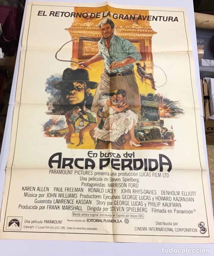LOTE DE 19 CARTELES DE CINE ORIGINALES, AÑOS 80 (Cine - Posters y Carteles - Acción)