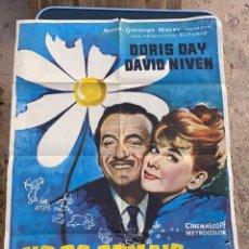 Cine: POSTER DE CINE NO OS COMAIS LAS MARGARITAS METRO GOLDWYN MAYER 1960 CON DORIS DAY. Lote 277606418