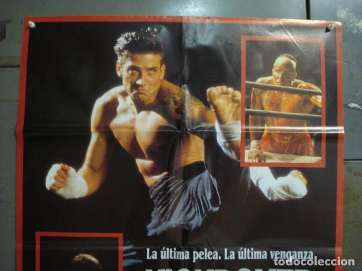 Cine: CDO L968 KICKBOXER 2 SASHA MITCHELL ALBERT PYUN ARTES MARCIALES POSTER ORIGiNAL 70X100 ESTRENO - Foto 2 - 277611118