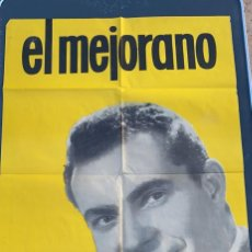 Cine: POSTER DE CINE EL MEJORANO EN DISCO BELTER 1964. Lote 277612483