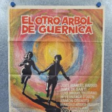 Cine: EL OTRO ÁRBOL DE GUERNICA. JOSÉ MANUEL BARRIO, INMA DE SANTIS PEDRO LAZAGA AÑO 1969. POSTER ORIGINAL. Lote 277612873