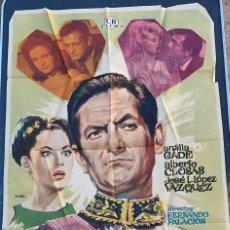 Cine: POSTER DE CINE OPERACION EMBAJADA 1963 CB FILMS CON ALBERTO CLOSAS Y ANALIA GADE. Lote 277620293