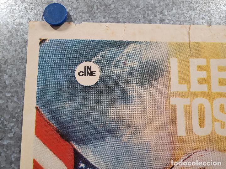 Cine: Infierno en el pacífico. Lee Marvin, Toshirô Mifune. AÑO 1979. POSTER ORIGINAL - Foto 2 - 277641463