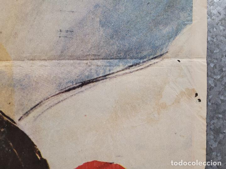 Cine: Infierno en el pacífico. Lee Marvin, Toshirô Mifune. AÑO 1979. POSTER ORIGINAL - Foto 5 - 277641463
