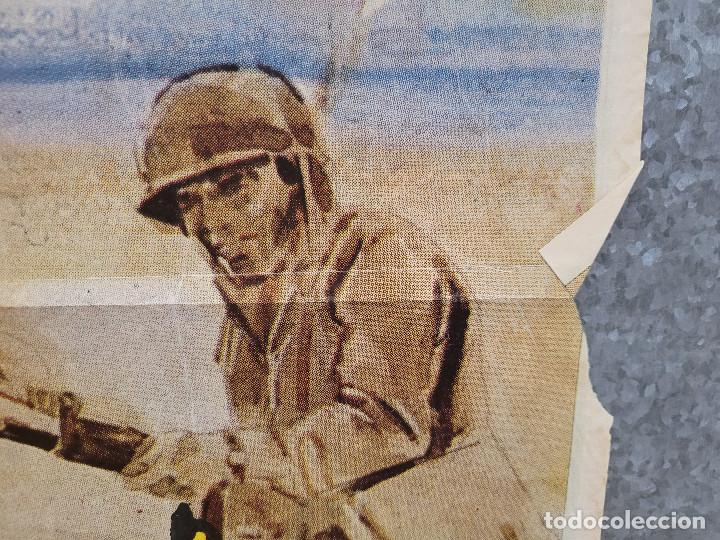 Cine: Infierno en el pacífico. Lee Marvin, Toshirô Mifune. AÑO 1979. POSTER ORIGINAL - Foto 7 - 277641463
