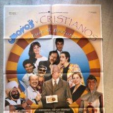 Cine: CARTEL MOROS Y CRISTIANOS 1987. Lote 277692273