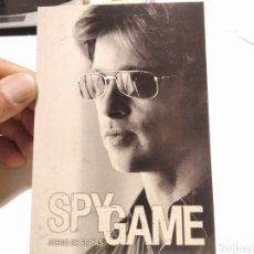 Cine: POSTAL CINE SPY GAME ROBERT REDFORD, BRAD PITT. Lote 277851728