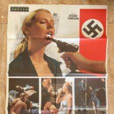 Cine: CARTEL CINE ORIG ESTRENO LA ULTIMA ORGIA DE LA GESTAPO (1977) 70X100 / CESARE CANEVARI. Lote 278406663