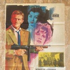 Cine: CARTEL CINE ORIG ESTRENO LA MONEDA ROTA (1964) 70X100 / ROSSANA PODESTÀ / GEORGE SANDERS / JANO. Lote 278505093