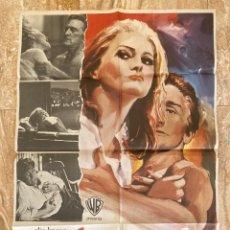 Cine: CARTEL CINE ORIG ESTRENO EL COMPROMISO (1969) 70X100 / ELIA KAZAN / KIRK DOUGLAS. Lote 278509888