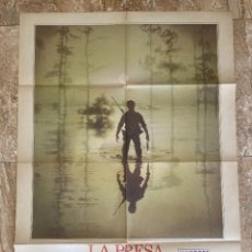 Cinema: CARTEL CINE ORIG ESTRENO LA PRESA (1981) 70X100 / KEITH CARRADINE / WALTER HILL. Lote 278510463