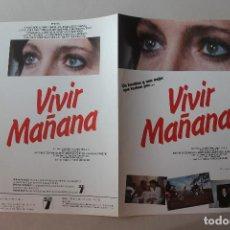 Cine: VIVIR MAÑANA, ANTONIO FERRANDIS, MERCEDES SAMPIETRO, RAFAELA APARICIO. Lote 278525728