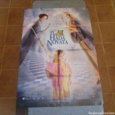 Cine: CARTEL ORIGINAL DE CINE, EL HADA NOVATA, 99 X 69 CM, 1997, LA FOTOGRAFIADA, PLEGADO.. Lote 278586243