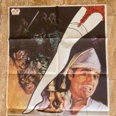 Cinema: CARTEL CINE ORIG ESTRENO EL LIGUERO MAGICO (1980) 70X100 / ANDRÉS PAJARES. Lote 278607203