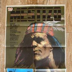 Cine: CARTEL CINE ORIG REESTRENO MESTIZO (1966) 70X100 / JULIO BUCHS / JANO. Lote 278608578
