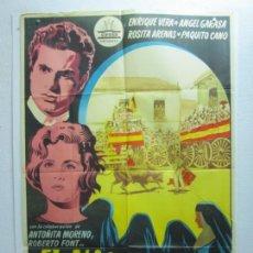 Cine: EL NIÑO DE LAS MONJAS - POSTER CARTEL ORIGINAL - ENRIQUE VERA ROSITA ARENAS IGNACIO IQUINO TOROS - L. Lote 278614533