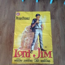 Cine: LORD JIN , ANTIGUO PÓSTER ORIGINAL AÑO 65 70×100. Lote 278706198