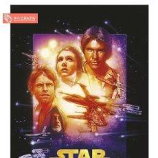Cine: STAR WARS EPISODE IV POSTER TAMAÑO XL COMPRANDO 4 UNDS UNO ES GRATIS (3X4). Lote 278793738