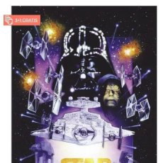 Cine: STAR WARS CLASSIC POSTER TAMAÑO XL COMPRANDO 4 UNDS UNO ES GRATIS (3X4). Lote 278795018