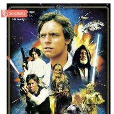 Cine: STAR WARS 40TH ANNIVERSARY HEROES POSTER XL COMPRANDO 4 UNDS UNO ES GRATIS (3X4). Lote 278796483