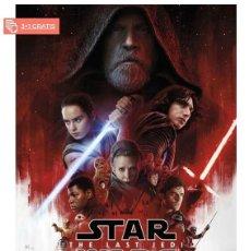 Cine: STAR WARS: EPISODIO VIII LOS ÚLTIMOS JEDI POSTER XL COMPRANDO 4 UNDS UNO ES GRATIS (3X4). Lote 278797988