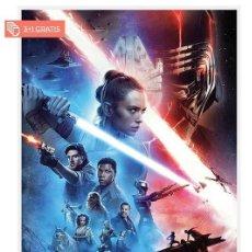 Cine: STAR WARS EL ASCENSO DE SKYWALKER POSTER XL COMPRANDO 4 UNDS UNO ES GRATIS (3X4). Lote 278798668