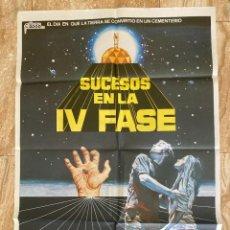 Cinema: CARTEL CINE ORIG ESTRENO SUCESOS EN LA IV FASE (1974) 70X100 / SAUL BASS / JANO. Lote 278817103