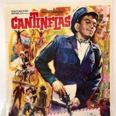 Cine: CARTEL DE CINE 70X100 - CANTINFLAS ENTREGA INMEDIATA. Lote 278833268
