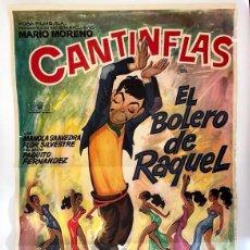Cine: CARTEL DE CINE 70X100 - EL BOLERO DE RAQUEL. Lote 278833753