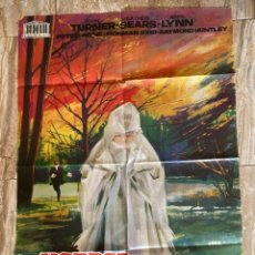 Cinema: CARTEL CINE ORIG ESTRENO HORROR EN LA MANSION FORDYKE (1964) 70X100 / ROBERT HARTFORD-DAVIS / JANO. Lote 278952833